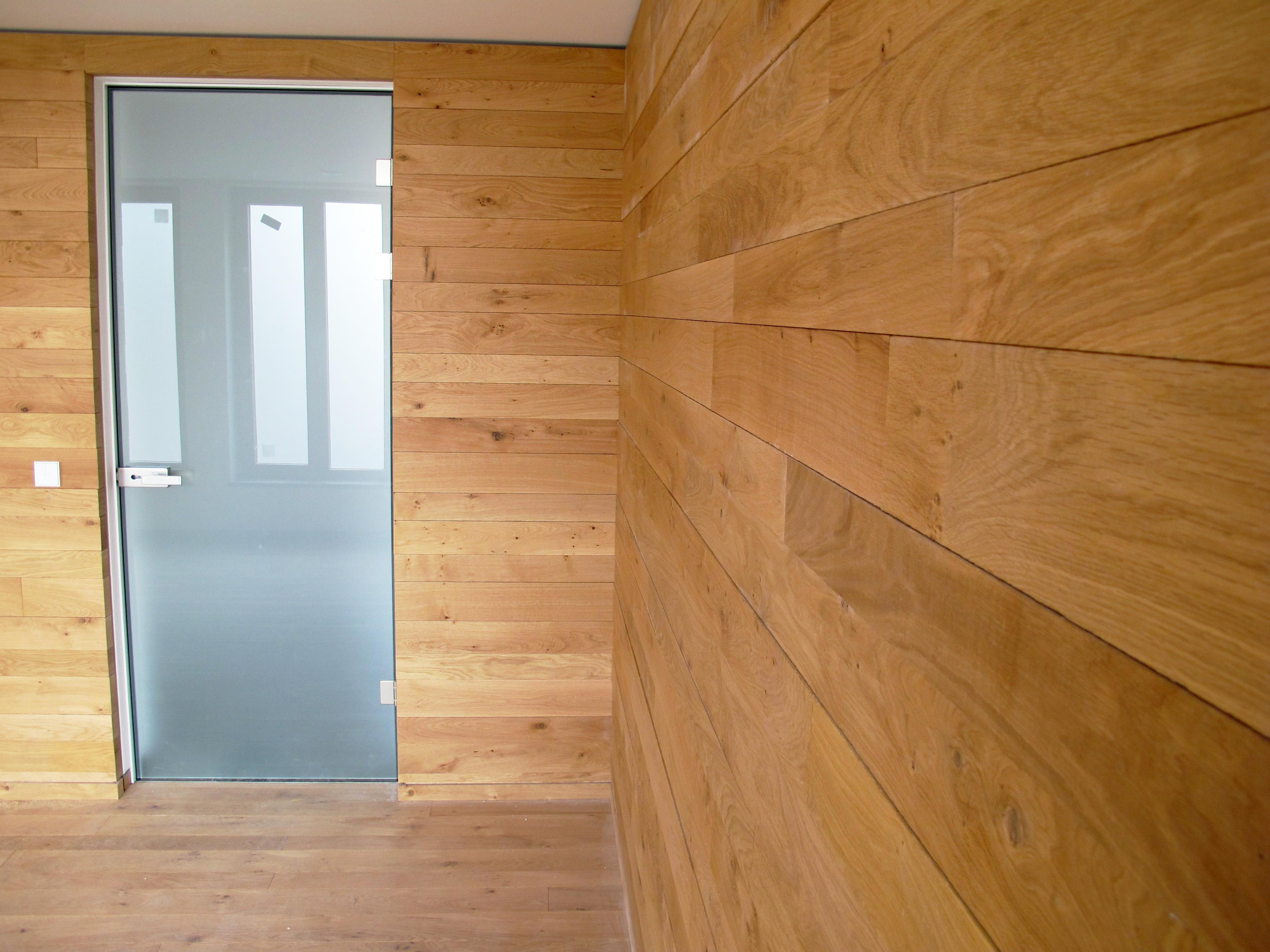 Zimmertüren - Glastüre mit Sonderzarge