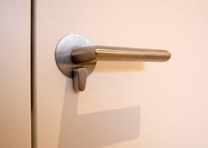 Design Türdrücker für Bad und WC