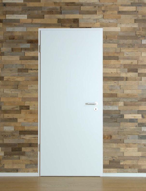 Einbausituationen: Zimmertüre überfälzt