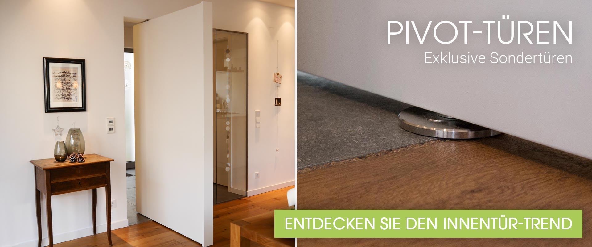 Pivot-Türen - Exklusive Sondertüren