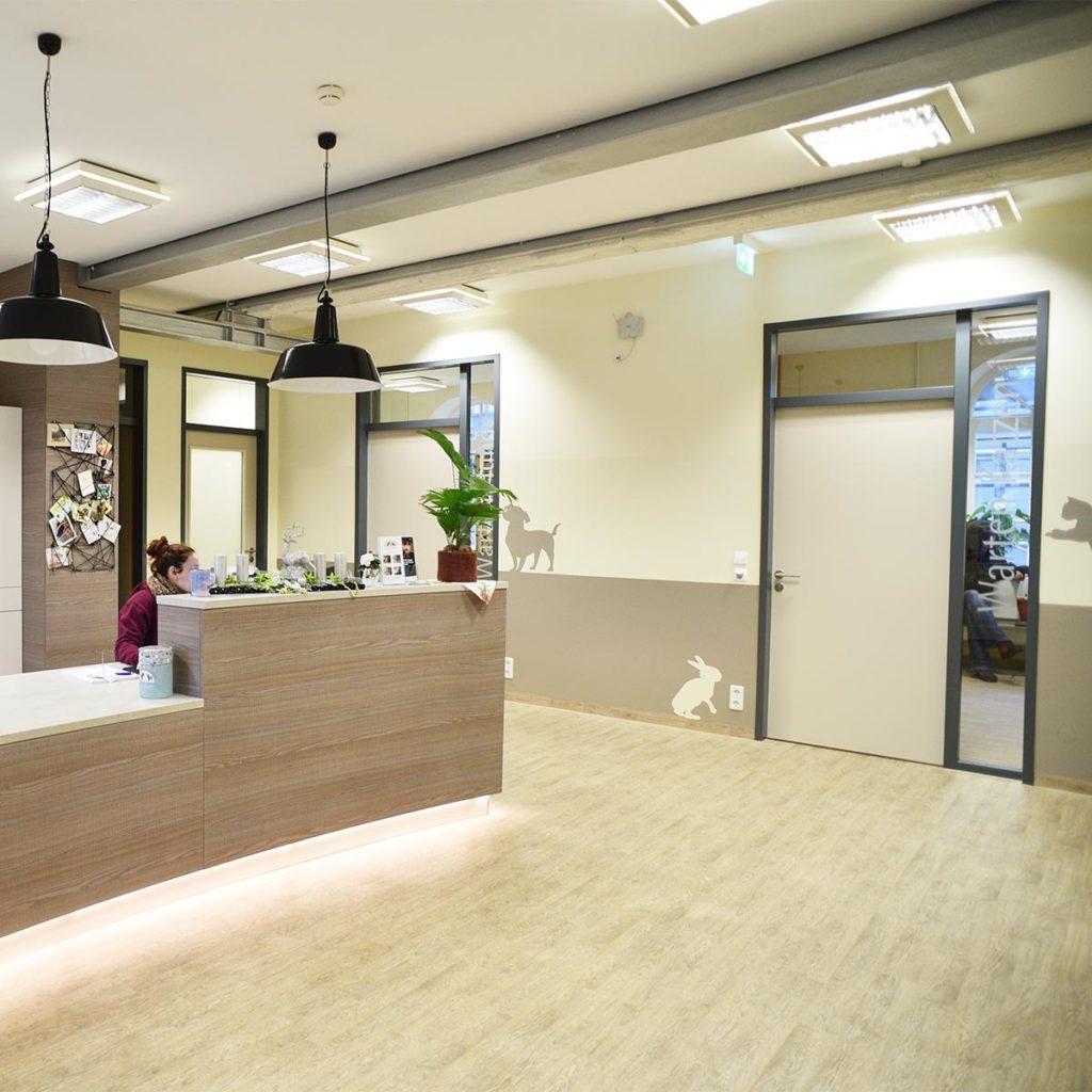 Konold Premium-Innentüren in der Tierarztpraxis an der alten Spinnerei in Ettlingen