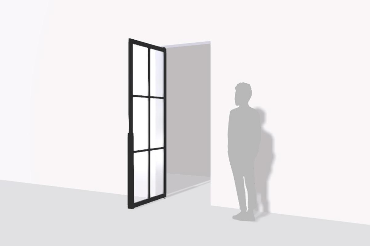 Loft-Tür Preisbeispiel Konfiguration 1